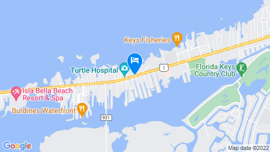 Tranquility Bay Beachfront Hotel and Resort Map