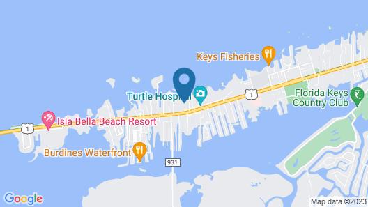Courtyard by Marriott Marathon Florida Keys Map