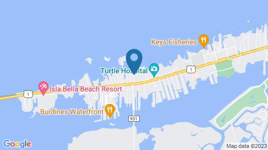 Faro Blanco Resort & Yacht Club Map