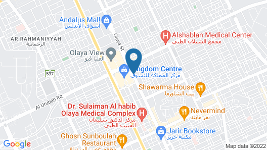 ibis Riyadh Olaya Street Map