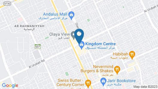 Four Seasons Hotel Riyadh Map