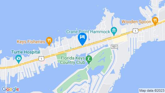 Banana Bay Resort & Marina Map
