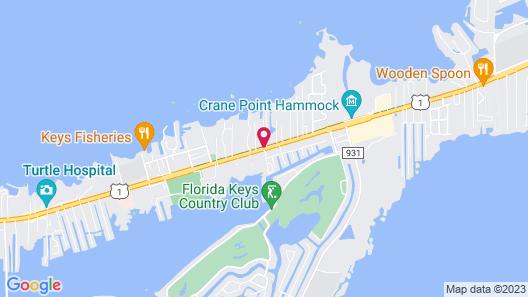 Blackfin Resort and Marina Map