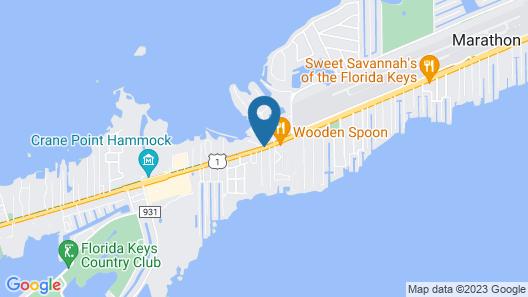 1 Island Hideaway in the Keys Map