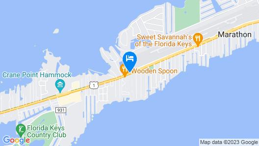 Coconut Cay Resort & Marina Map