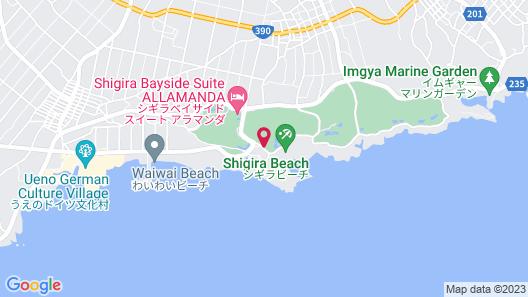 Hotel Shigira Mirage Map