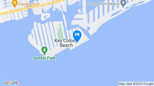 Glunz Ocean Beach Hotel & Resort Map