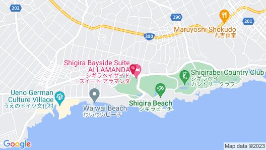 Shigira Bayside Suite Allamanda Map