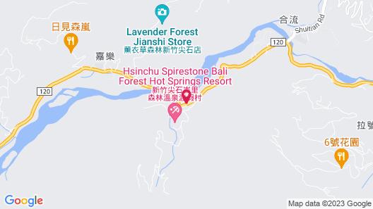 Hsinchu Bali Forest Hot Spring Resort Map