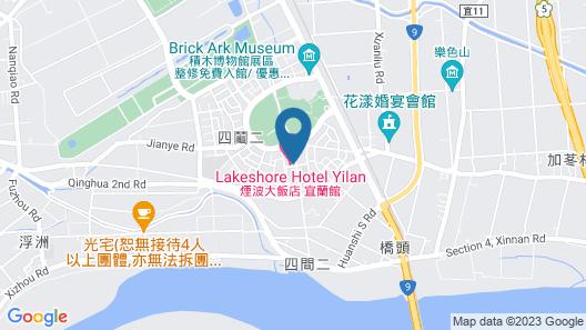Lakeshore Hotel Yilan Map