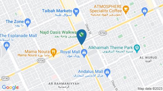 Sheraton Riyadh Hotel & Towers Map
