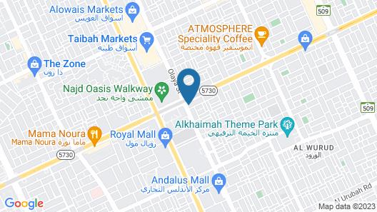 Le Méridien Riyadh Map