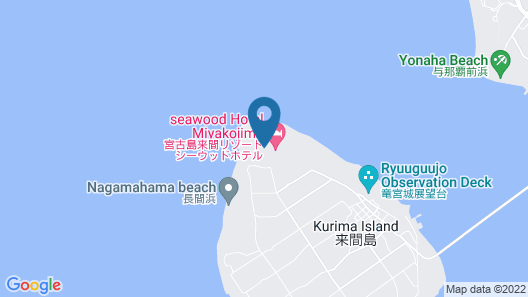 SEAWOOD HOTEL Map