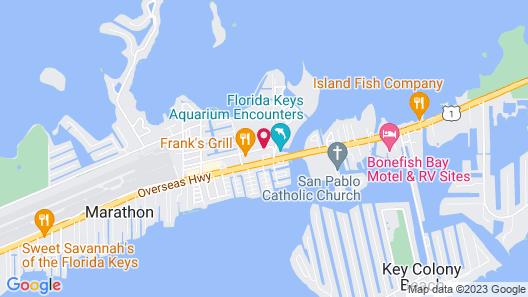 Indigo Reef Resort Villas & Marina by KeysCaribbean Map