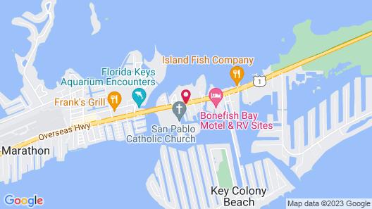 Coral Lagoon Resort Villas & Marina by KeysCaribbean Map