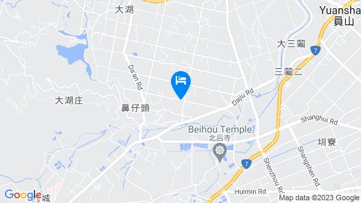 Suyen B&B Map