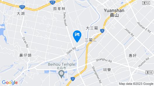 Zhi Yang B&B Map