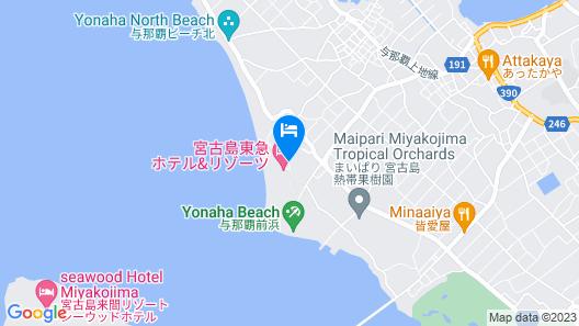 Miyakojima Tokyu Hotel & Resorts Map
