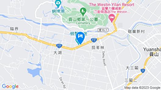 Lovely Pond Hostel Map