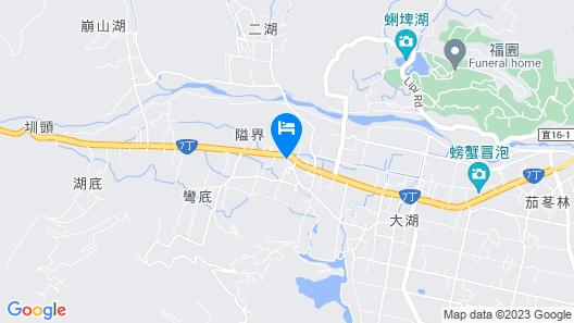 Yuanshan Dahu Homestay Map