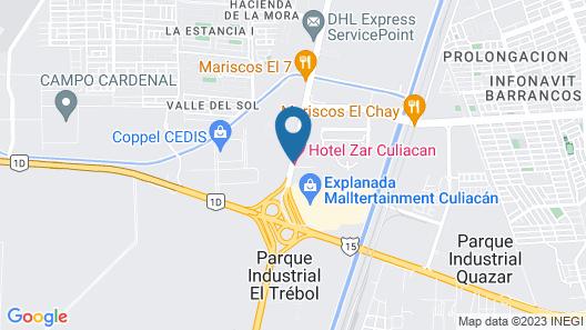 Zar Culiacan Map