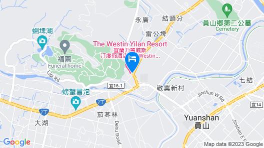 The Westin Yilan Resort Map