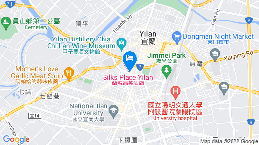Silks Place Yilan Map