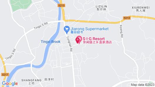 Xiamen SIG Resort Map