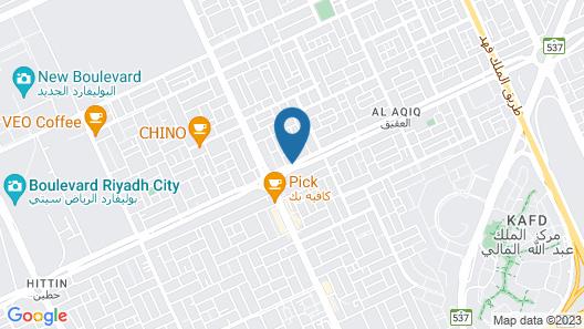 Taleen AlAqiq hotel apartments Map