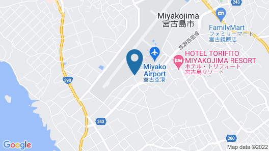 T-PARK Airport Side 1 Map