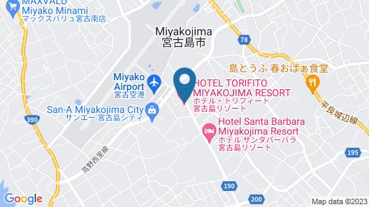 HOTEL TORIFITO MIYAKOJIMA RESORT Map