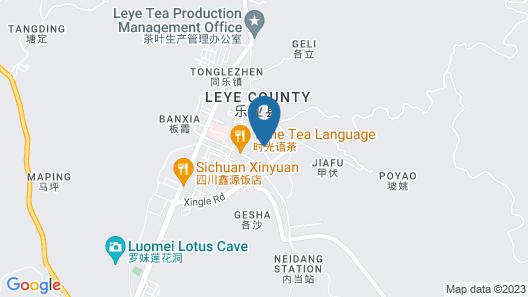 City Comfort Inn Baise Leye County Map