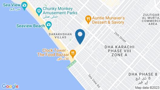 Beach View Apartment 1 Map