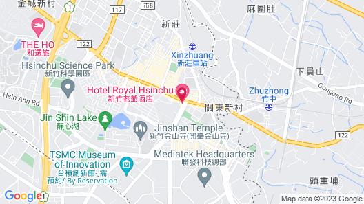 Hotel Royal Hsinchu Map