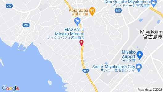 Mr.KINJO MIGHTY ONE MIYAKOJIMA Map