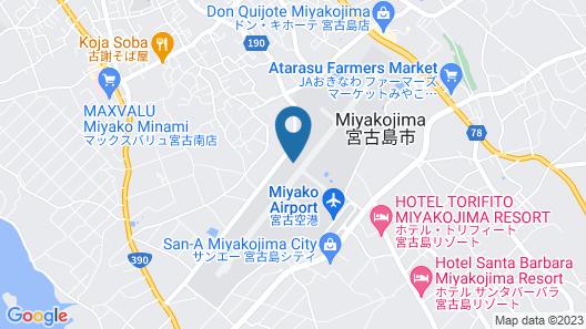 Mr.KINJO inn SHIMOZATOMINAMI Map
