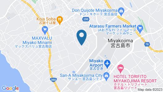 Pension Hana Miyakojima Map