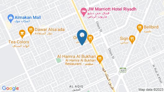 Land Beach Al Aqiq Map