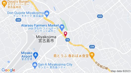 Pine Hills Hotel Miyakojima Map