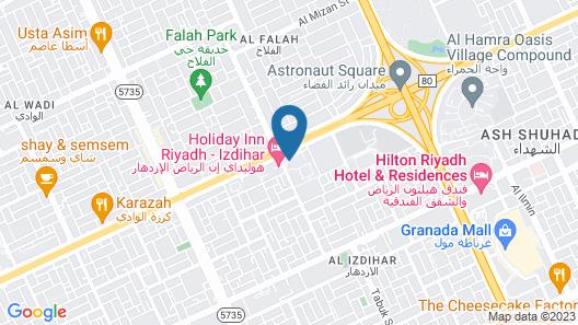 Holiday Inn Riyadh Izdihar, an IHG Hotel Map