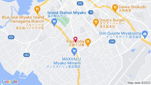 SAKUMA HOUSE MIYAKOYA Map