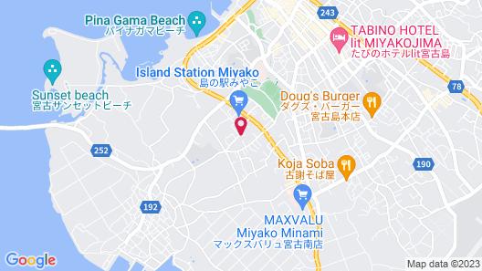 Villa Capri Miyakojima Map