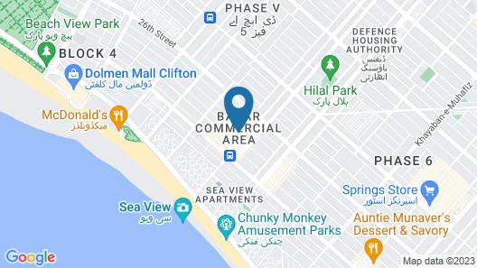 Stayflix Ktown Rooms Map