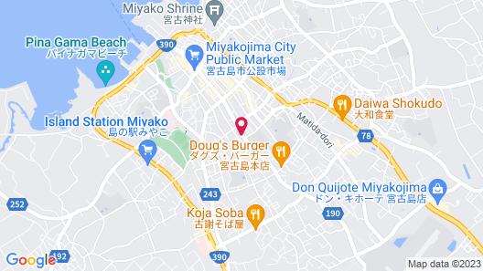 M-Villaggio Miyakojima Map