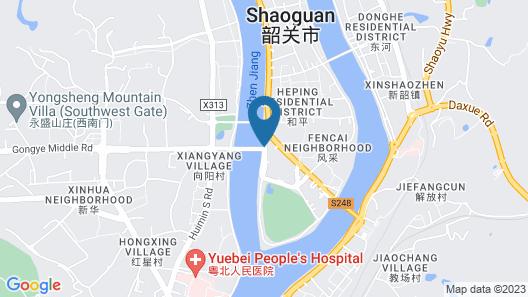 Ramada Plaza Shaoguan City Centre Map