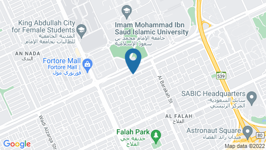 Merfal Hotel Apartments Al Falah Map