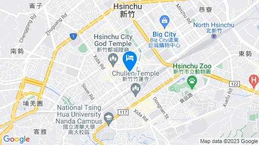 Yuhao Hotel Hsinchu Map
