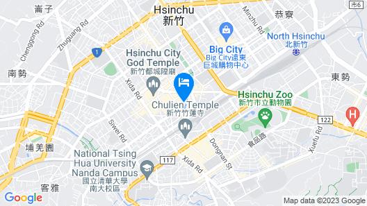 Shin Yuan Park Hotel Map