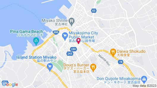 Hotel Peace Island Miyakojima Map