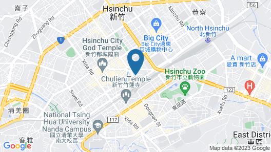 Golden Swallow Hotel Map